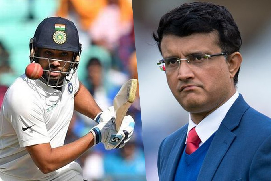 INDvsWI: Sourav Ganguly suggest Rohit Sharma should open in the test series