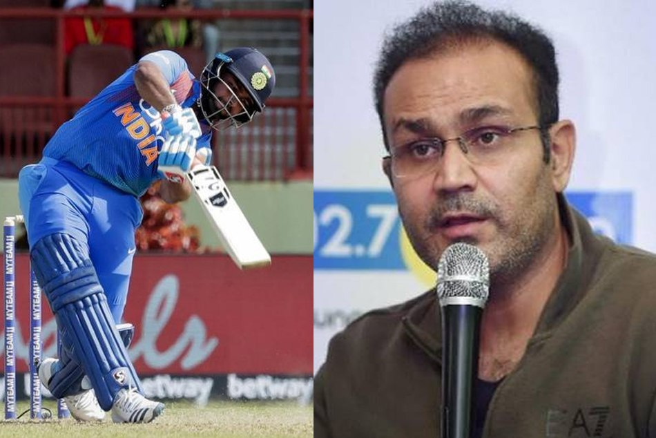 वीरेंद्र सहवाग ने वनडे क्रिकेट के लिए ऋषभ पंत को दी ये खास सलाह