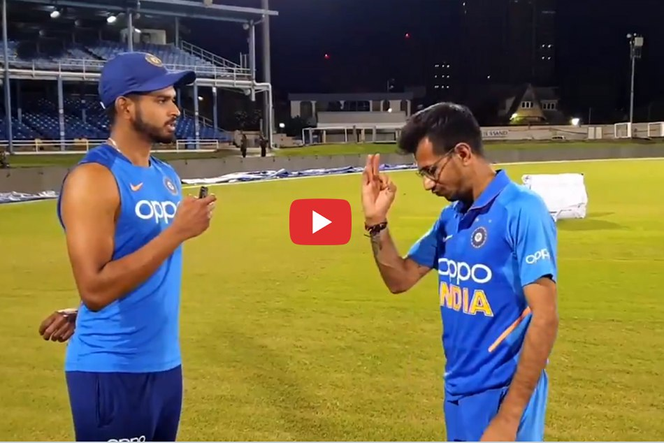 Shreyas Iyer S Hilarious Chahal Tv Interview Goes Viral Watch Video