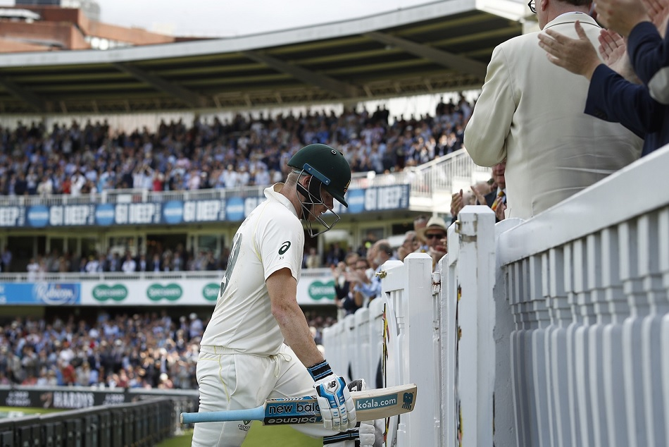Steve Smith subbed out from lords test by delayed concussion, in doubt for third Test