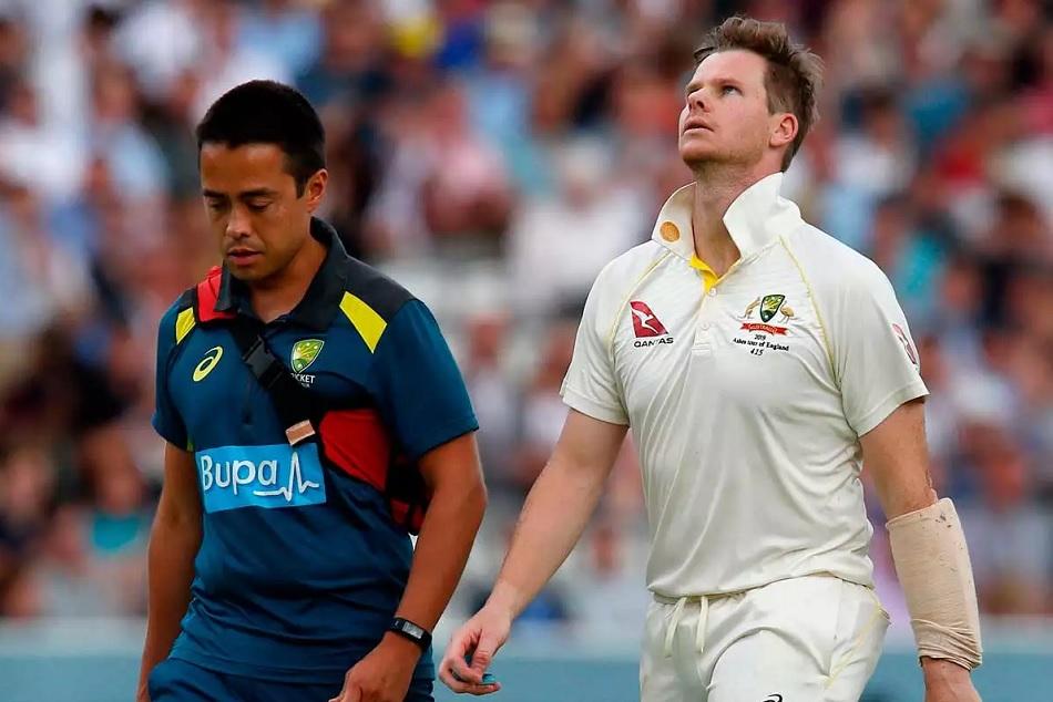 स्मिथ की चोट के कारण टेस्ट क्रिकेट में बना ऐसा रिकाॅर्ड जो पहले कभी नहीं बना