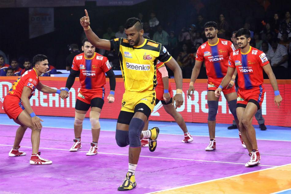 Pro Kabaddi League 2019: UP Yoddha, Telugu Titans play out a thrilling tie