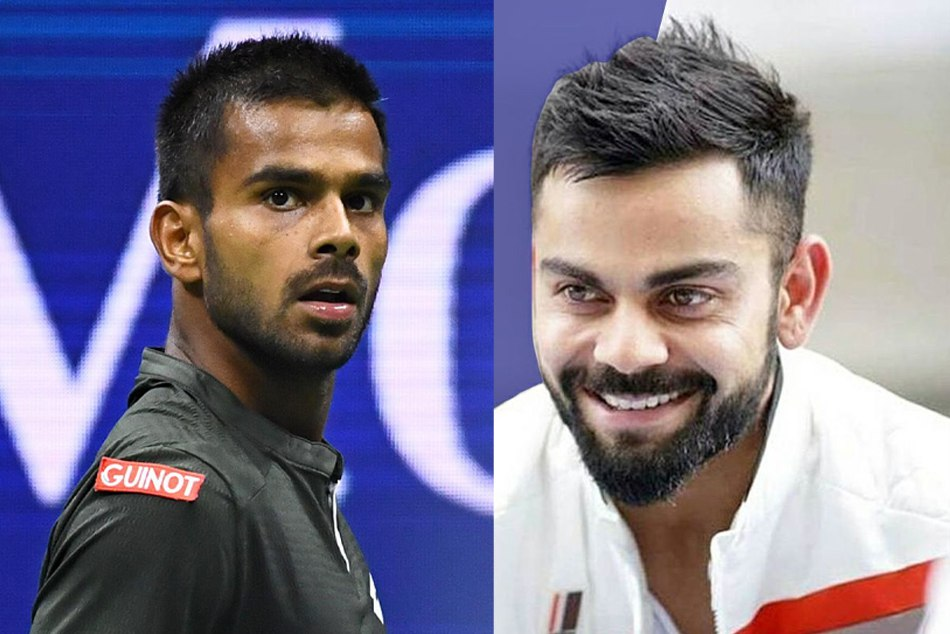 Indian tennis sensation Sumit Nagal shares this connection with the Virat Kohli