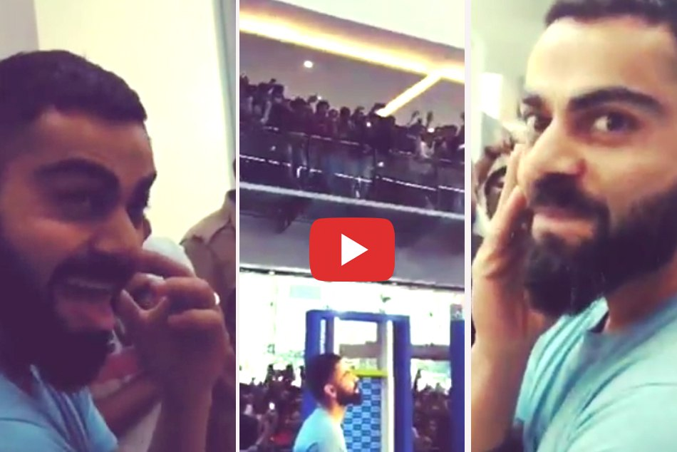 Virat Kohli had a 'surreal experience before leaving for Windies tour 2019, Watch
