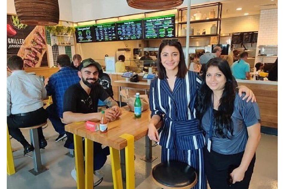 virat kohli and anushka sharma enjoying at Miami ahead of west indies tour 2019
