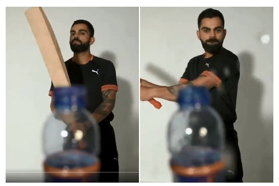 Virat Kohli has done Bottle cap challenge, says it is Better late than never, watch