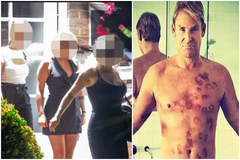Shane Warne is caught doing party with his girlfriend and two sex worker at his Londons house