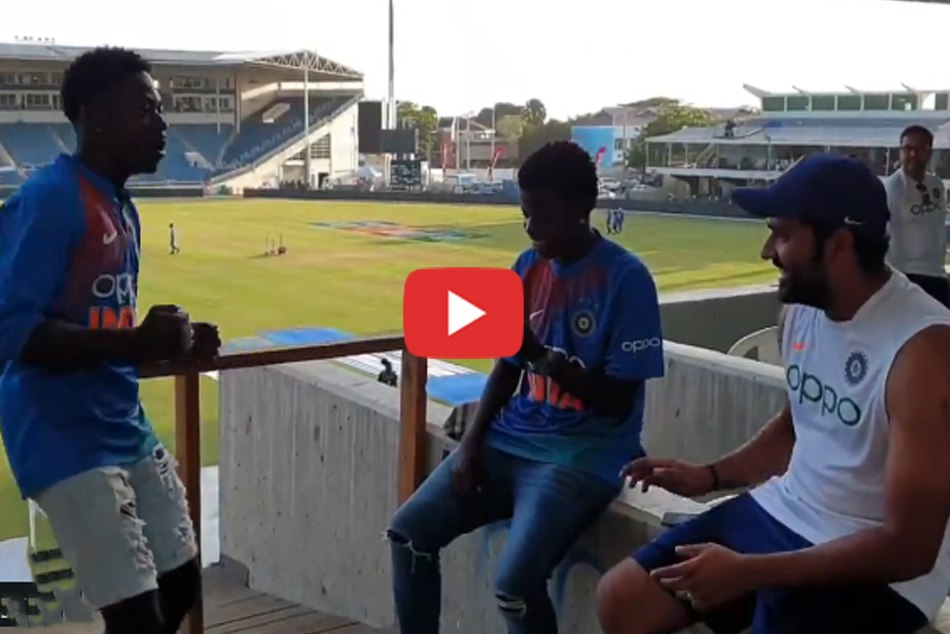 When Rohit Sharmas Jamaican fans showed him dancing on the champion track- Watch