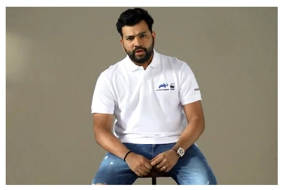 Rohit Sharma to start bat for rhinos campaign on world rhino day