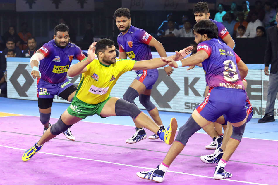 PKL 2019: Naveen Kumar steals the show as Dabang Delhi thrash Tamil Thalaivas