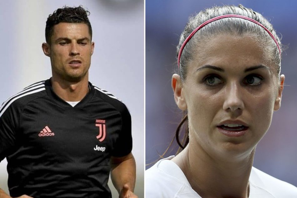 Money helps put stories down - Alex Morgan on Cristiano Ronaldo