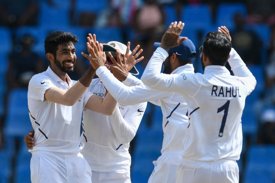 INDvsWI: Jasprit Bumrah becomes third indian to take hat-trick in test matches, Watch