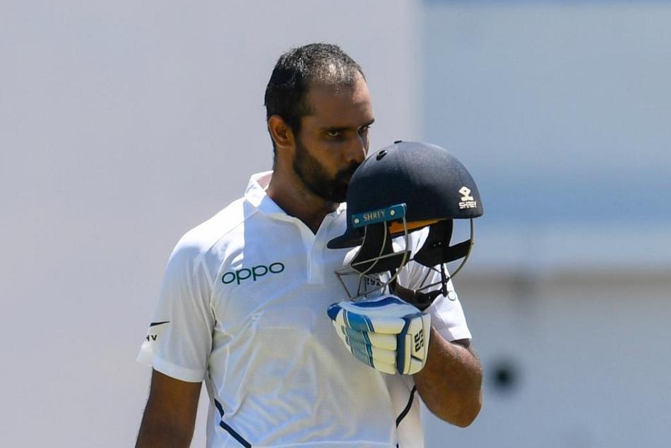 INDvsWI: Hanuma Vihari marks maiden Test century at Sabina Park, joins elite list