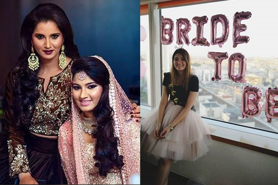 Sania Mirzas sister anam mirza shares bride to be pic, can tie a knot with former indian captain mohammad azharuddins son