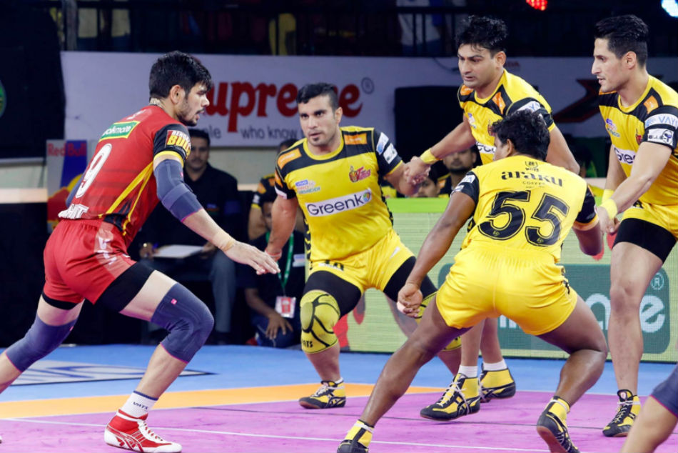 Pro Kabaddi League 2019: Preview: Bengaluru Bulls look to do the double over Telugu Titans