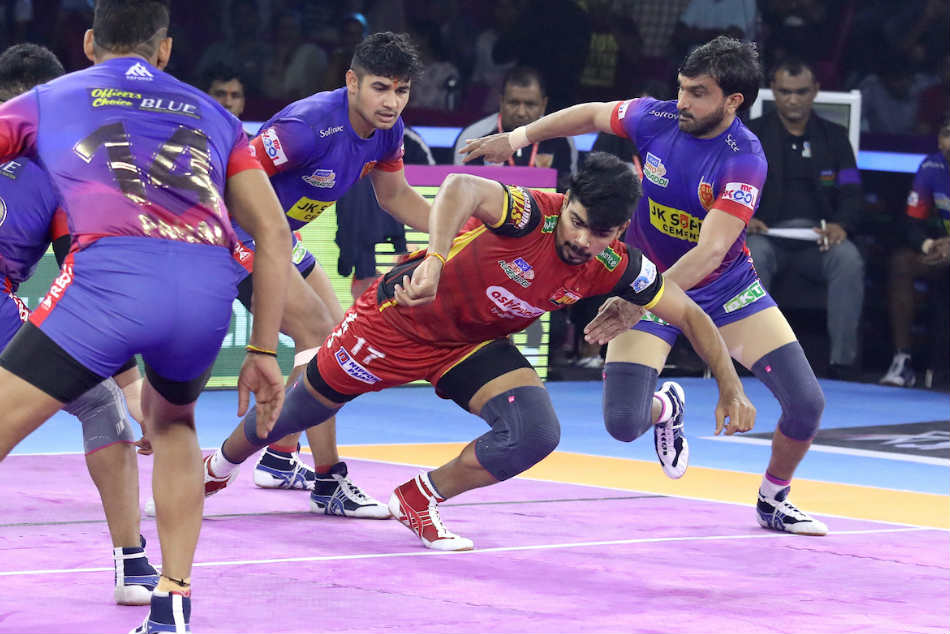 Pro Kabaddi League 2019: Bengaluru Bulls secure thrilling tie against Dabang Delhi