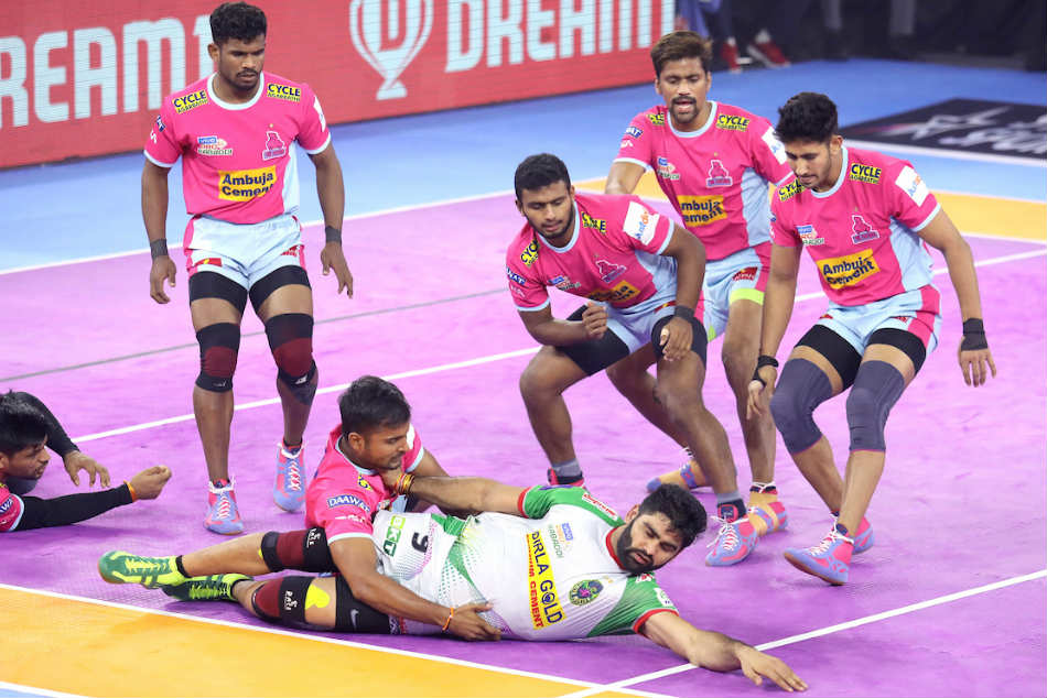 PKL 2019: Pardeep Narwal puts on impressive show as Patna Pirates edge Jaipur Pink Panthers