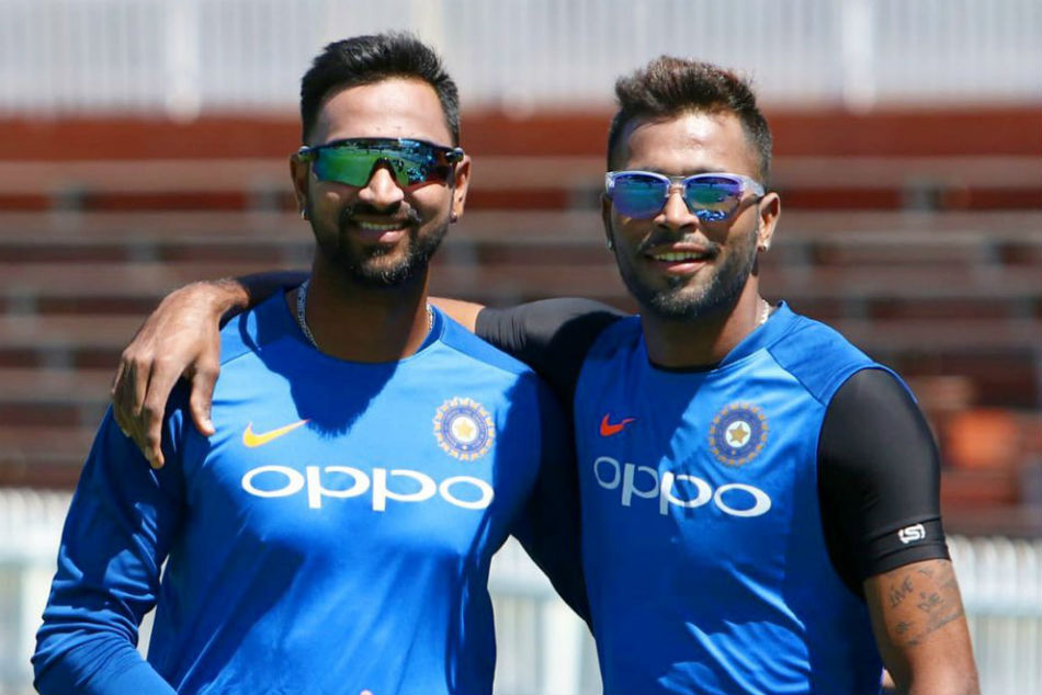 Hardik Pandya trolls Krunal in a video of training session, elder brother comes up with an epic reply-Watch