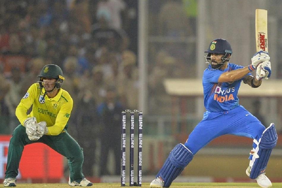 T-20 क्रिकेट में कोहली ने बनाया विश्व रिकाॅर्ड, रोहित शर्मा को छोड़ा पीछे