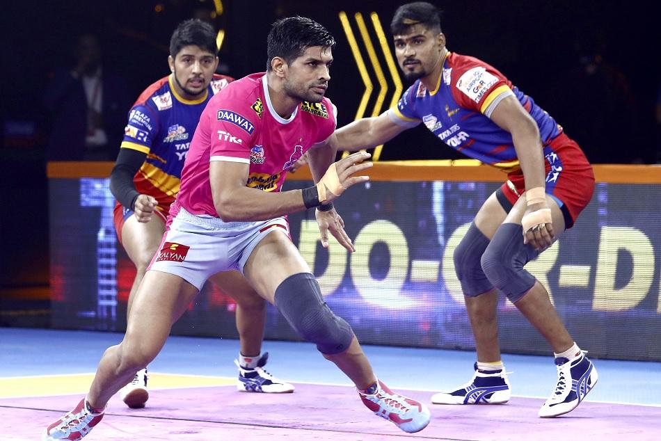 दीपक की मेहनत पर फिरा पानी, यूपी ने जयपुर को 38-32 से हराया