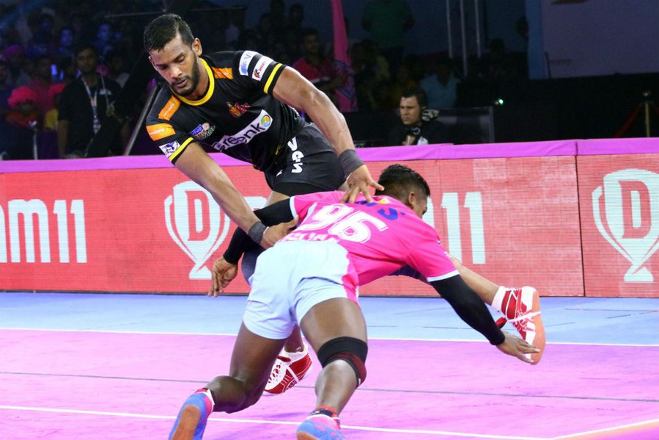 Pro Kabaddi League 2019: Telugu Titans hammer Jaipur Pink Panthers; Siddharth grabs 22 points