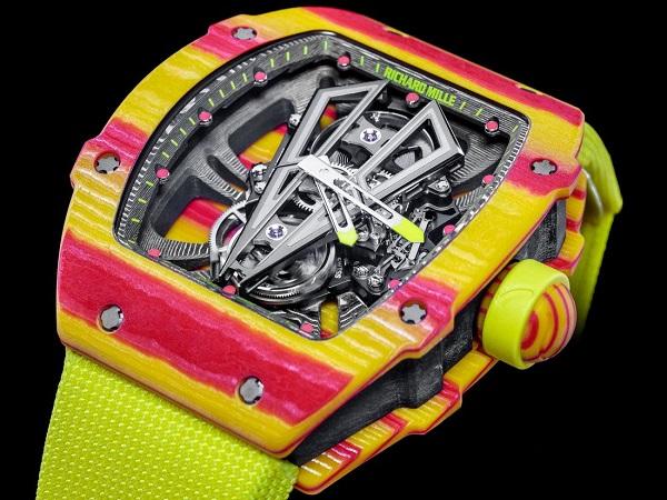 नडाल के लिए बनती है आधुनिक घड़ियां