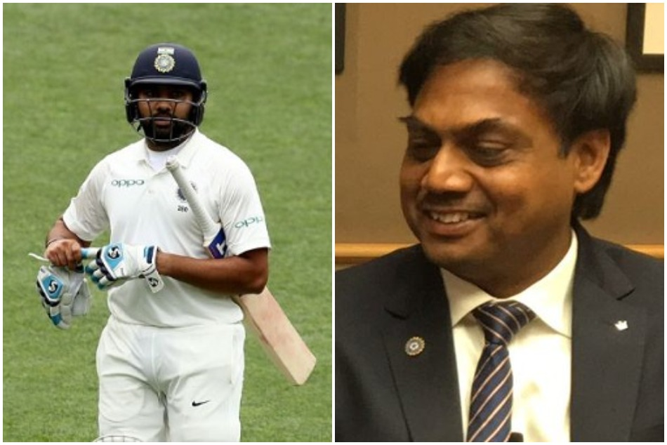 MSK prasad will consider Rohti sharma as test openers as he concerns about the KL Rahul form