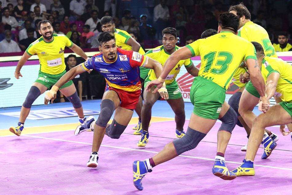 प्रो कबड्डी लीग 2019 : यूपी योद्धा ने तमिल को 42-22 से धोया