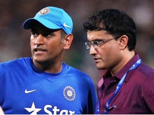 Sourav gnaguly Ms Dhoni
