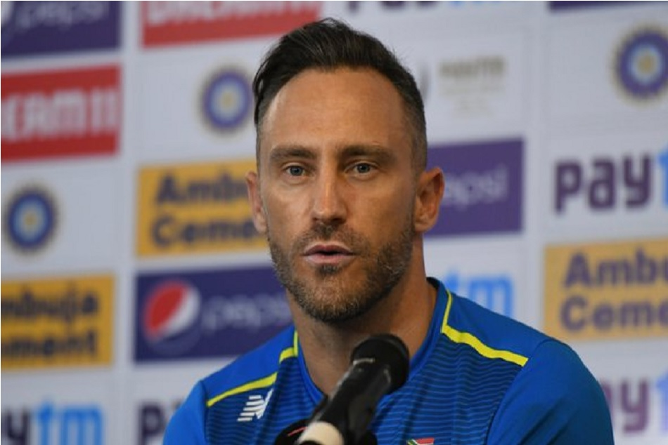 Faf Du Plessis said Indias strategy revolved around toss and darkness in test series