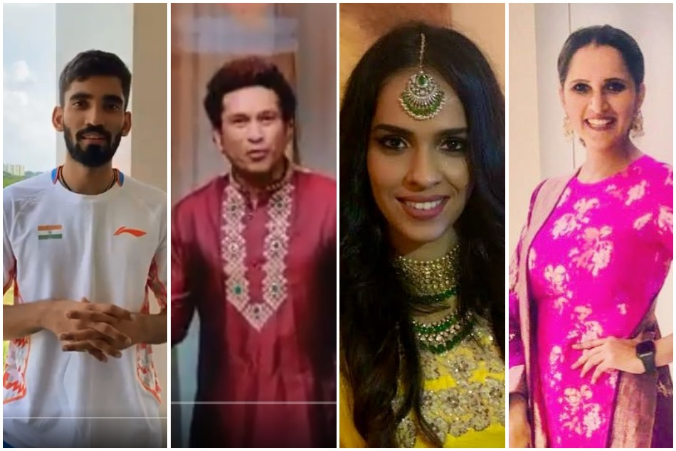 On the occasion of Diwali, Sports celebrities gave their best wishes to their Indian fans