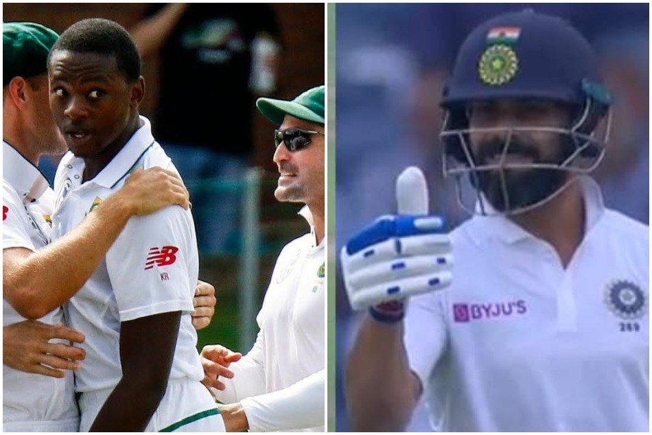 When Virat Kohli gives thumb up to Kagiso Rabada misfield, See what happens in VIDEO