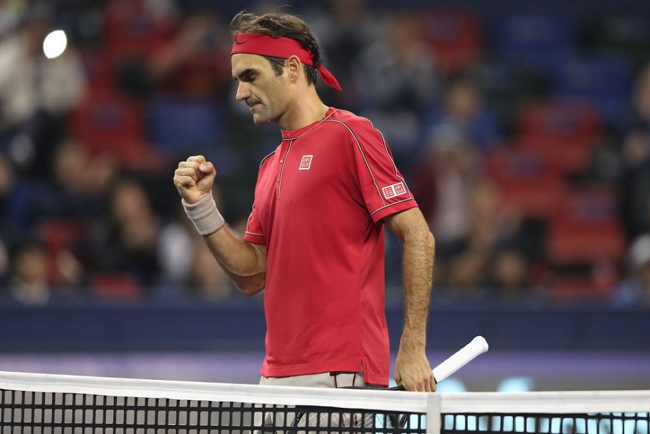 Roger Federer became the first player in the world to reach 15th finals of Swiss Indoors