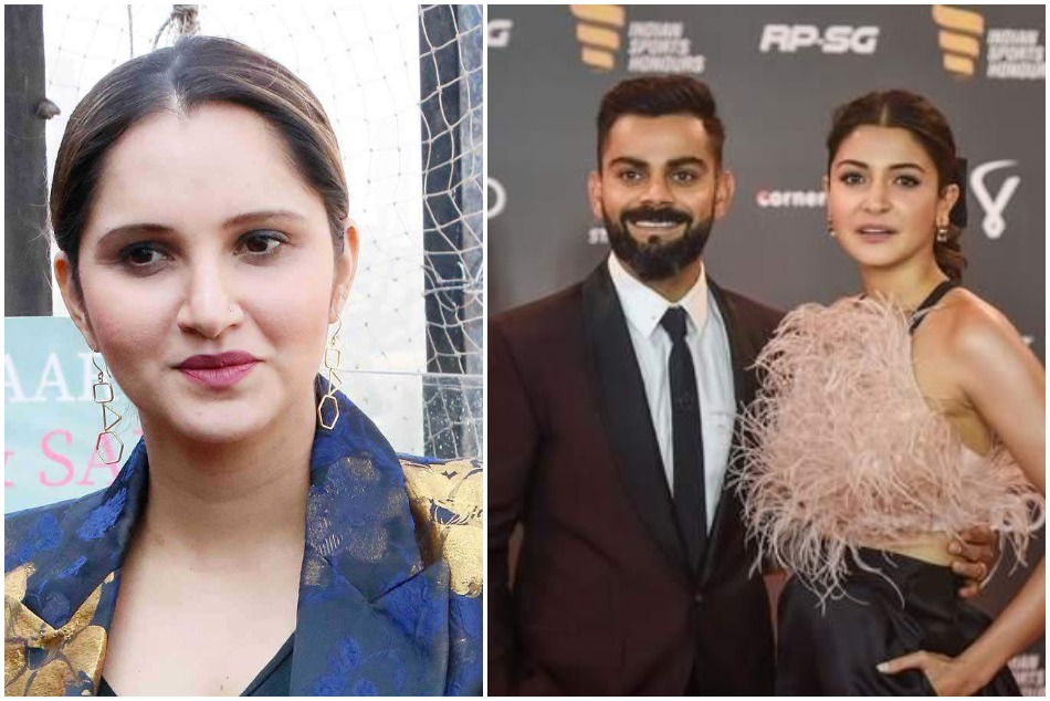 Sania Mirza says Anushka Sharma has nothing to do if Virat Kohli out on zero