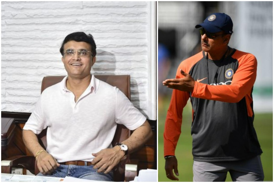 Have you spoken to Ravi Shastri?, Sourav Ganguly replied hilariously to this question