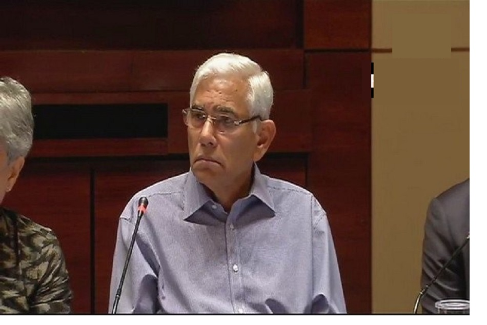 Vinod Rai considers Gangulys nomination for the post of BCCI President as excellent development