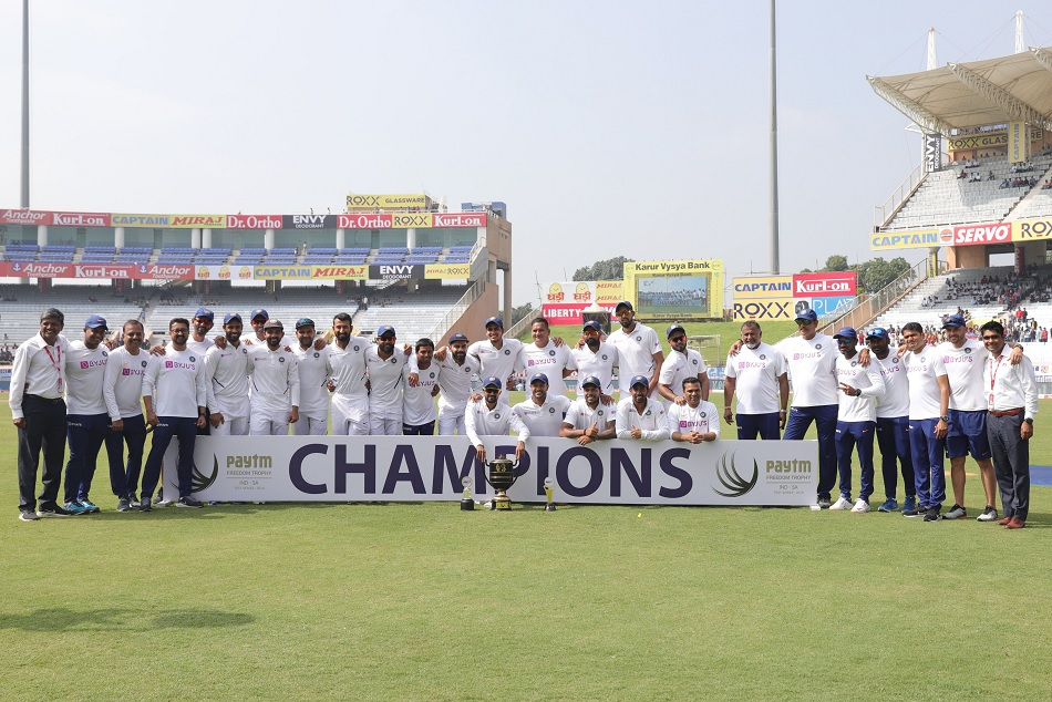 After South Africa, Team India clean sweep to all teams in World Test Championship too
