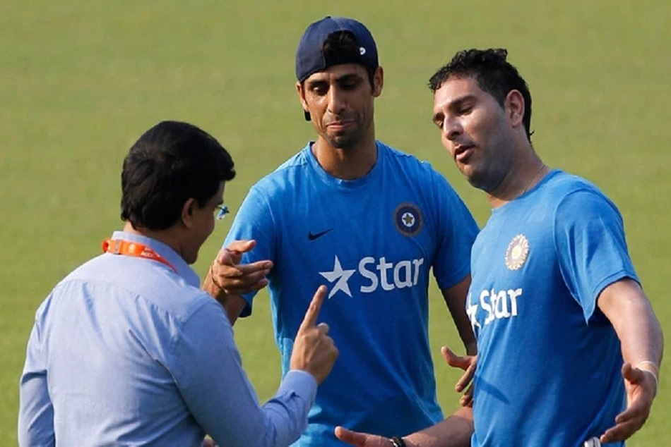 Yuvraj congratulating Dadi Ganguly on becoming BCCI President, also quips on Yo-Yo test