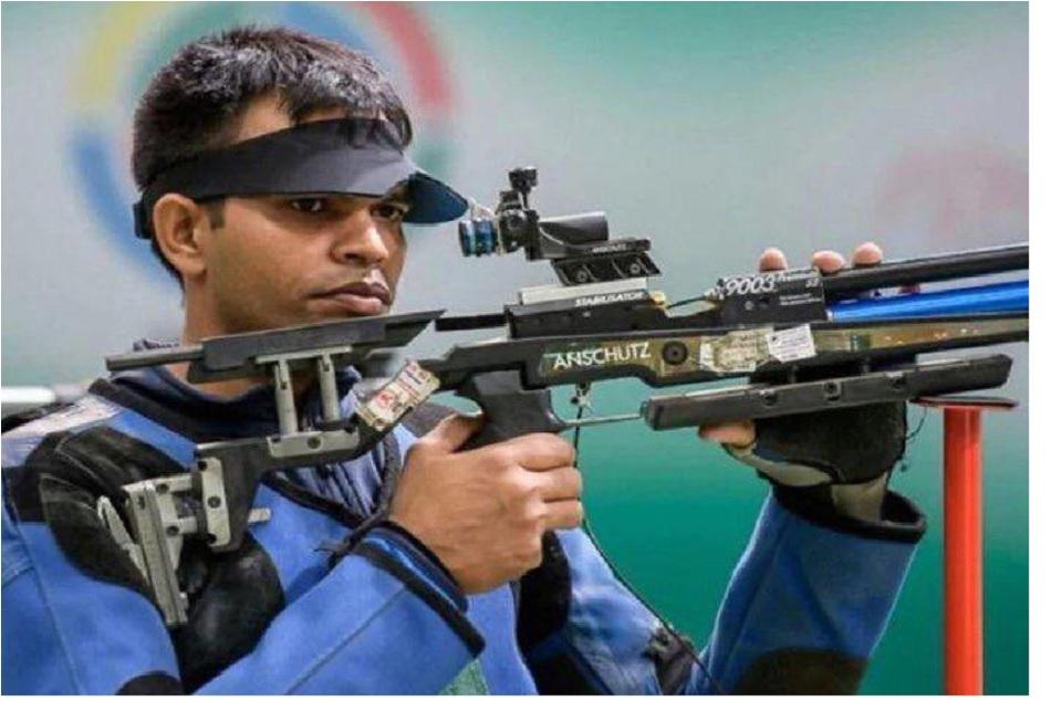 Asian Shooting Championship: Deepak Kumar won an Olympic quota in mens 10m air rifle, Manu wins gold