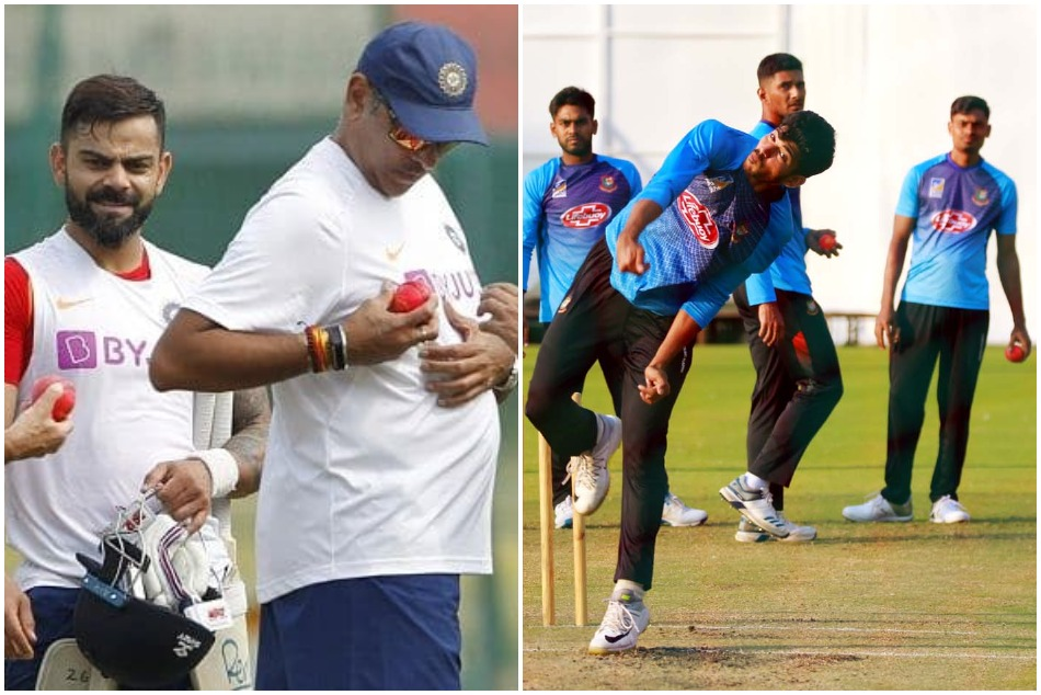 IND vs BAN: Huge excitement between both team for pink ball, here is playerss reaction for day-night test