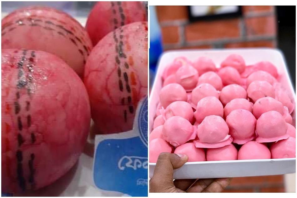 डे-नाइट टेस्ट के मौके पर कोलकाता की मिठाईयां हुई गुलाबी, गांगुली ने शेयर की तस्वीरें