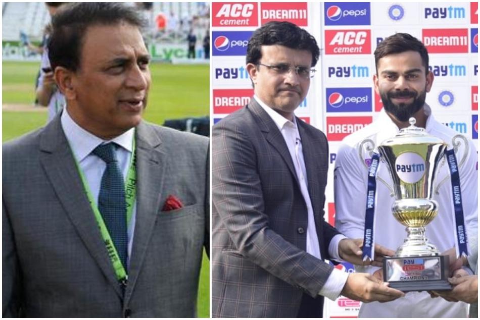 Virat Kohli praised Sourav Ganguly, Sunil Gavaskar took a dig at it