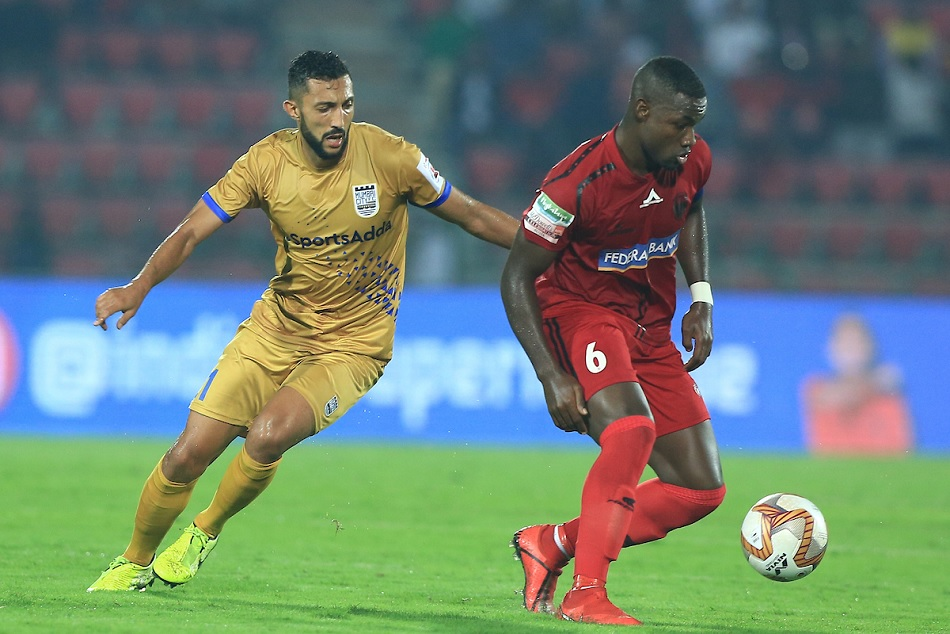 ISL 6: NorthEast United FC and Mumbai City FC share a 2-2 draw