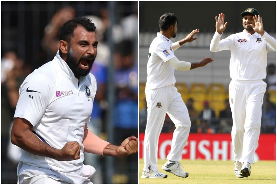 Bangladeshi bowler Abu Jayed took tips from Shami for bowling like him in day-night test