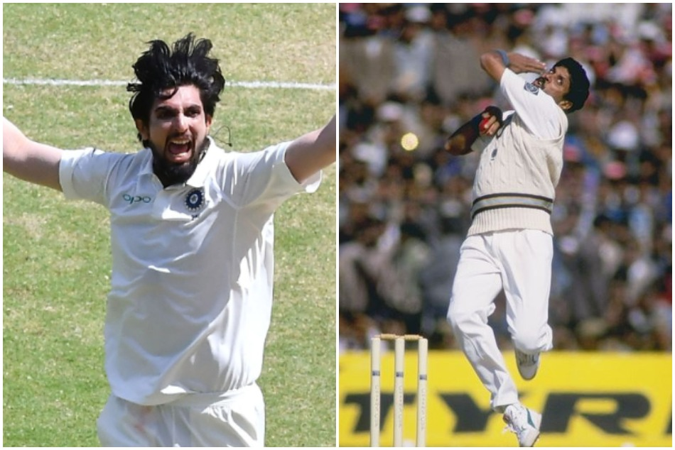 Can Ishant Sharma surpasses the Kapil Dev and becomes highest wicket taker in Indian Test history