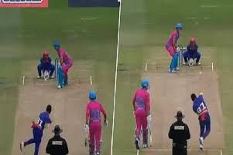 दोनों हाथों से गेंदबाजी करके इस गेंदबाज ने मचाया तहलका, विकेट भी झटके, देखें वीडियो