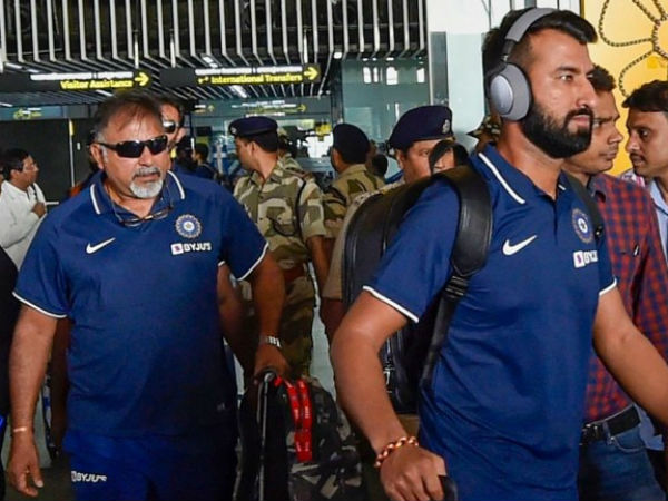 2nd Test: ईडन गार्डन्स के अलावा कहीं नहीं हो सकता था डे-नाइट टेस्ट, कोलकाता पहुंची भारतीय टीम