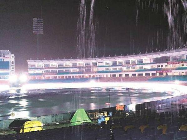 बारिश के बाद महज 20 मिनट में हो सकता है खेल शुरु