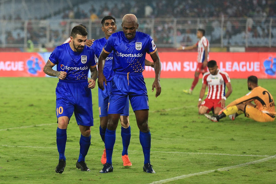 ATK and Mumbai City played out a thrilling 2-2 draw in a closely contested Hero Indian Super League clash