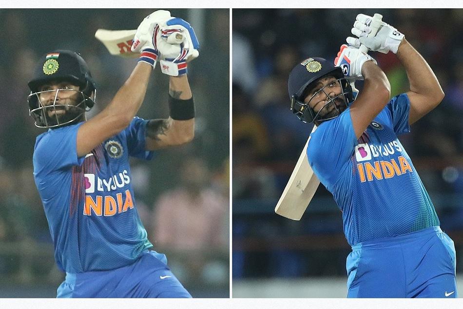 रोहित को पछाड़कर कोहली बने T-20i में सबसे ज्यादा रन बनाने वाले बल्लेबाज